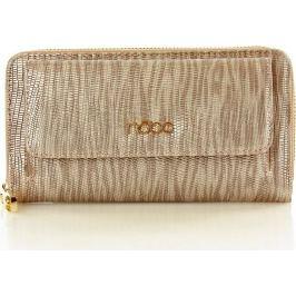 NOBO Dámská zlato-růžová elegantní peněženka se vzorem (Np1010c) velikost: univerzální, odstíny barev: zlatá