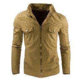 Jarní/podzimní béžová bunda (tx1184)/C30 velikost: XL, odstíny barev: béžová