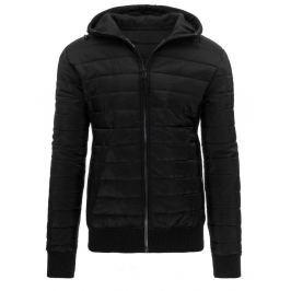Pánská černá bunda (tx1403)/1612142-C22 velikost: M, odstíny barev: černá