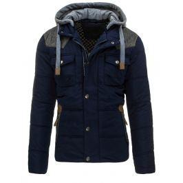 Pánská modrá zimní bunda (tx1363)/170270-D11 velikost: XL, odstíny barev: modrá