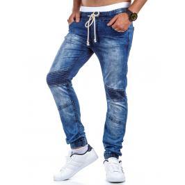 Pánské modré kalhoty  (ux0409)/3558-C21 velikost: 31, odstíny barev: modrá