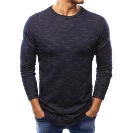 BASIC Pánský tmavě modrý svetr (wx0990) Velikost: S