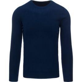 BASIC Tmavě modrý fleecovy sveter (wx1005) velikost: XL, odstíny barev: modrá