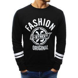 BASIC Černá mikina fashion original (bx3374) velikost: M, odstíny barev: černá