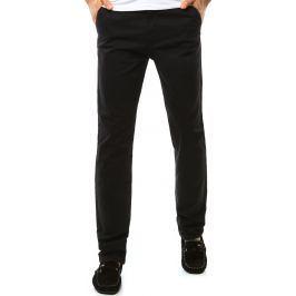 BASIC Pánské kalhoty v černé barvě (ux1095) velikost: 29, odstíny barev: černá