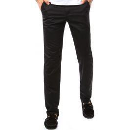 BASIC Pánské kalhoty v černé barvě (ux1099) velikost: 30, odstíny barev: černá