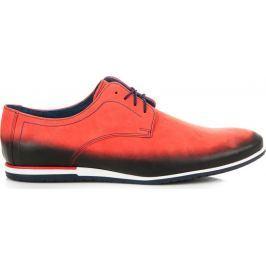BASIC ČERVENÉ POLOBOTKY CASUAL (355R) velikost: 39, odstíny barev: červená