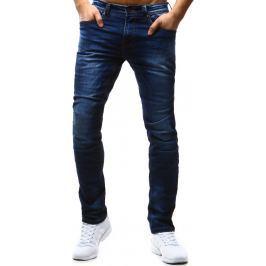 BASIC Pánské tmavě modré džíny (ux0842) velikost: 31, odstíny barev: modrá