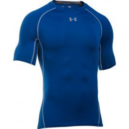 UNDER ARMOUR Modré kompresní tričko (1257468-400) velikost: L, odstíny barev: modrá