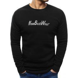 BASIC Pánská mikina černá (bx3439) velikost: M, odstíny barev: černá