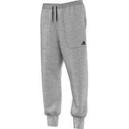 Šedé pánské tepláky Adidas S94745 velikost: L, odstíny barev: šedá