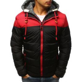 BASIC Černá zimní prošívaná bunda (tx2503) Velikost: L