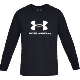 Under Armour Sportstyle Logo Long Sleeve 1329283-001 Velikost: S