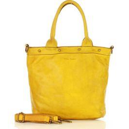 Žlutá shopper kabelka MARCO MAZZINI (v34b) Velikost: univerzální