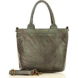 Šedá shopper kabelka MARCO MAZZINI (v34a) Velikost: univerzální
