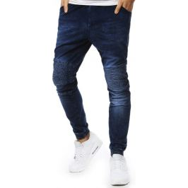 BASIC Pánské džíny  s žebrovanými koleny (ux2130) Velikost: M
