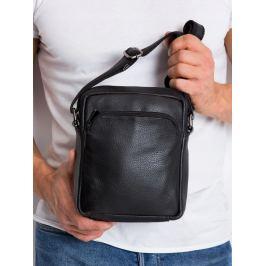 Pierre Andreus kožená taška přes rameno (5742-NDM PA BLACK) Velikost: univerzální