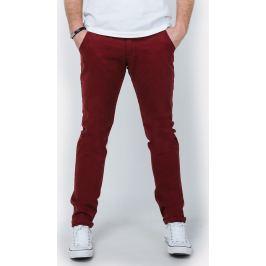 Pánské červené kalhoty - GM321 velikost: S, odstíny barev: červená