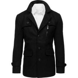BASIC Pánský černý kabát (cx0410) Velikost: S