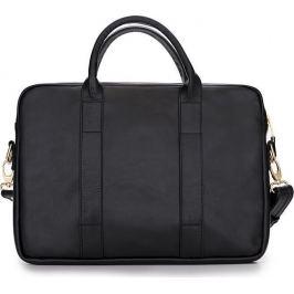 SOLIER Dámská kožená černá taška FELICE (FL10 DULCE BLACK) Velikost: univerzální