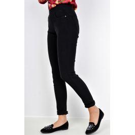 Černé elegantní kalhoty - TX061 velikost: S, odstíny barev: černá