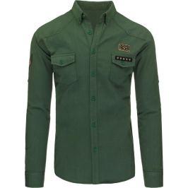 BASIC Pánská džínová košile (dx1258) Velikost: M