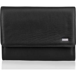 SOLIER Pánská černá kožená taška (SA01 BLACK) Velikost: univerzální