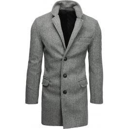 BASIC Pánský světle šedý kabát (cx0407) Velikost: M