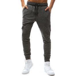 BASIC Pánské grafitové kalhoty (ux1128) velikost: S, odstíny barev: šedá