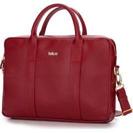 SOLIER Dámská kožená červená taška FELICE (FL10 DULCE RED) Velikost: univerzální