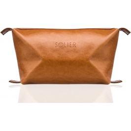 SOLIER Kosmetická taška pro muže (SK01 camel) Velikost: univerzální