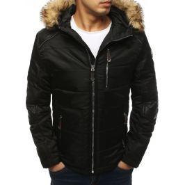 BASIC Černá prošívaná zimní bunda (tx3040) Velikost: M