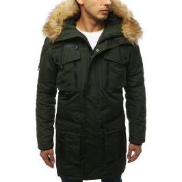BASIC Khaki zimní bunda (tx3046) Velikost: M