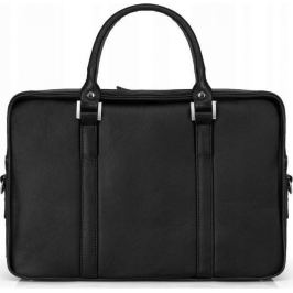 Rovicky černá kožená taška na notebook  (SL25 ROVICKY BLACK) Velikost: univerzální