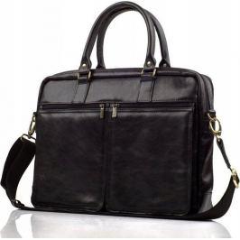 Rovicky černá kožená taška na notebook (SL01 ROVICKY BLACK) Velikost: univerzální