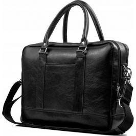 Rovicky černá kožená taška na notebook  (SL02 ROVICKY BLACK) Velikost: univerzální