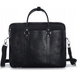 Rovicky černá kožená taška na notebook (SL03 ROVICKY BLACK) Velikost: univerzální