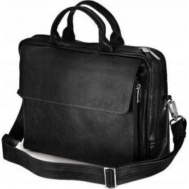 Rovicky černá kožená taška na notebook (SL30 ROTHEN ROVICKY BLACK) Velikost: univerzální