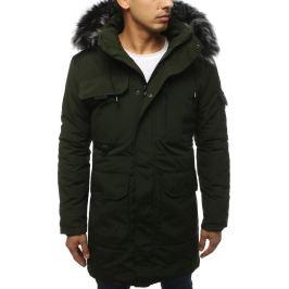 BASIC Pánská zimní bunda khaki (tx3037) Velikost: M