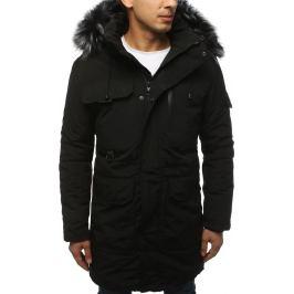 BASIC Pánská zimní bunda černá (tx3038) Velikost: 2XL