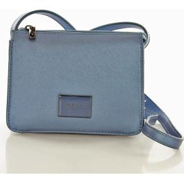 NOBO Klasická modrá listová kabelka (n1910c) Velikost: univerzální