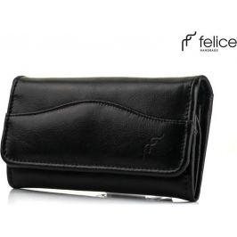 Černá peněženka Felice (P17 sk cza) velikost: univerzální, odstíny barev: černá