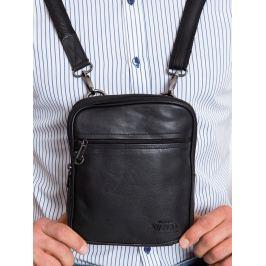 Always Wild kožená taška přes rameno (115-NDM BLACK) Velikost: univerzální