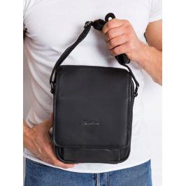 Pierre Andreus kožená taška přes rameno (015-NDM-PA BLACK) Velikost: univerzální