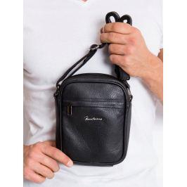 Pierre Andreus kožená taška přes rameno  (5021-NDM PA BLACK) Velikost: univerzální