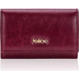 Červená peněženka FELICE (P06 DEEP RED) Velikost: univerzální