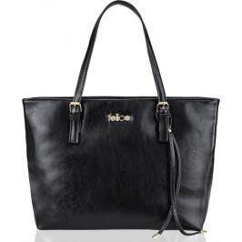 Kožená černá kabelka FELICE (FL12 LUNA BLACK) Velikost: univerzální