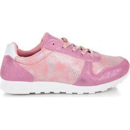 TENISKY VICES odstíny růžové 8360-20P velikost: 36, odstíny barev: růžová