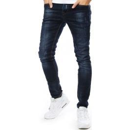 BASIC Pánské džíny granátově modré (ux2174) Velikost: 28