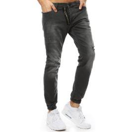 BASIC Černé pánské džíny (ux2180) Velikost: 30